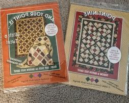 2 Quilt patterns from Crooked Nickel Quilt Designs