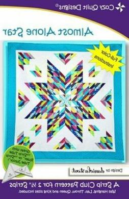 Almost Alone Star - Cozy Quilt Designs Pattern