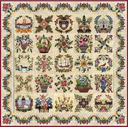 American Album by P3 Designs ~ Baltimore Applique Quilt Patt