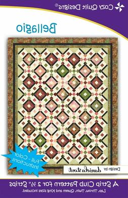 Bellagio Quilt Pattern by Cozy Quilt Designs Jelly Roll Frie