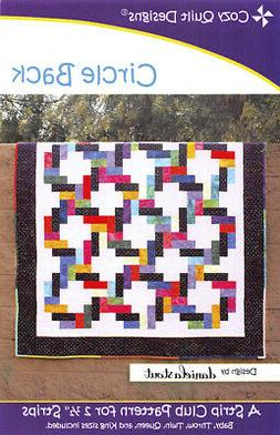 Circle Back Quilt Pattern by Cozy Quilt Designs - NEW