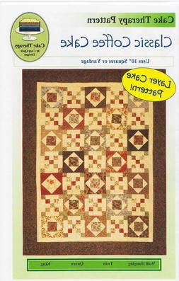 COZY QUILT DESIGNS CLASSIC COFFEE CAKE QUILT PATTERN - USES