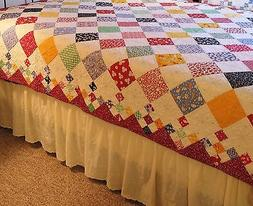 diamond patch baby quilt pattern new 9