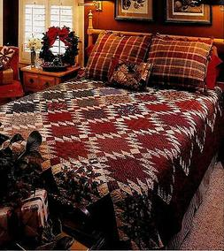 DOUBLE SAWTOOTH  *  PATCHWORK QUILT PATTERN