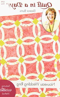 Quilt In A Day EB-1298 Eleanor Burns Pattern, Nouveau Weddin