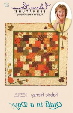 Quilt In A Day Eleanor Burns Quilt Pattern, Fabric Frenzy