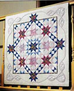 FANTASY REMEMBERED   PATCHWORK & APPLIQUE  VINTAGE WALL QUIL