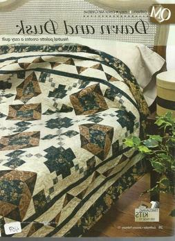 G0692  DAWN AND DUSK  QUILT PATTERN/INSTRUCTIONS
