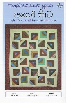 Gift Boxes Quilt Pattern by Cozy Quilt Designs - NEW