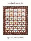 Antique Baskets Quilt Pattern for Embroidery, Applique and P