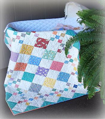 Diamond Patch Quilt Pattern & twin
