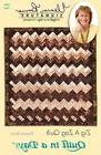 Eleanor Burns Patterns-Zig A Zag Quilt