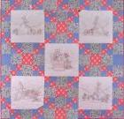 HONEY BUNNY'S GARDEN QUILT HAND EMBROIDERY PATTERN, From Cra
