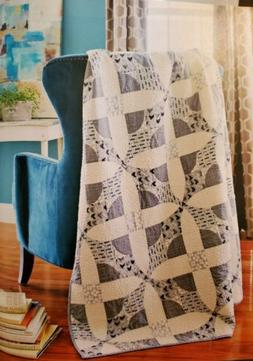 LAYERED NEUTRAL COLOR Quilt - Pattern From a Vintage Magazin