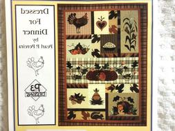 NEW! Dressed for Dinner Quilt Pattern by Pearl P. Pereira P3