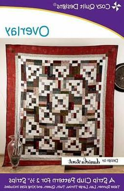 """Overlay  Quilt Pattern - A Strip Club Pattern for 2 1/2"""" Str"""