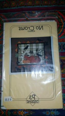 P3 Designs Quilt Applique Sewing Pattern No Crows Fall Harve