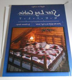 Quilt in a Day Star Log Cabin Quilt Pattern Book Eleanor Bur