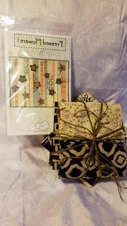 Quilt Kit Pressed Flowers Pattern by A Quilter's Dream-Batik