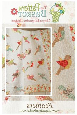 Quilt Pattern ~ FEATHERS ~ by The Pattern Basket