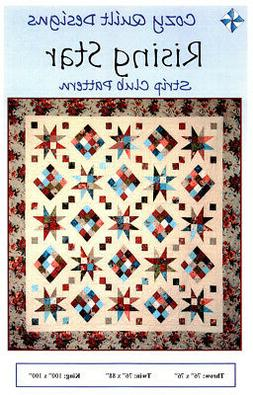 Rising Star SRR-RS2 Quilt Pattern by Cozy Quilt Designs - NE