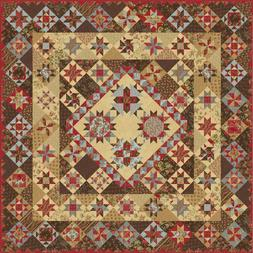 ROSEWOOD Quilt KIT - Quilt Pattern + Moda Fabric by 3 Sister
