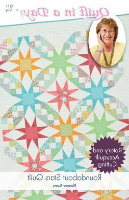 Roundabout Stars Quilt pattern from Quilt in a Day, Eleanor