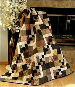 SIMPLY DELIGHTFUL Quilt Pattern~FAST~VERY EASY~Charms~Layer
