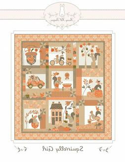 Squirrelly Girl Quilt Pattern By Bunny Hill Designs