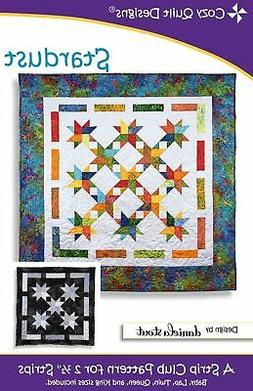 """Stardust quilt pattern for 2 1/2"""" Strips from Cozy Quilt Des"""
