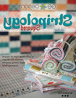 G.E. Designs Stripology Squared, Full Color Softcover Quilt