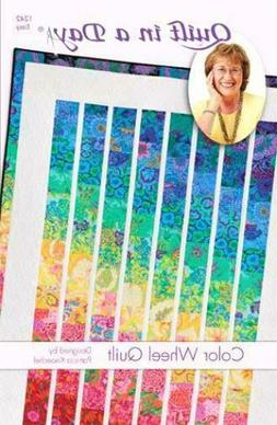 Color Wheel Quilt pattern, Eleanor Burns, Quilt in a Day, 12