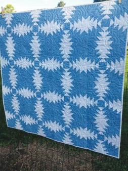 Wish Granted: Two-Color Pineapple Quilt Pattern